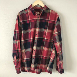 Brooks Brothers Red Plaid XL Mens Button Down